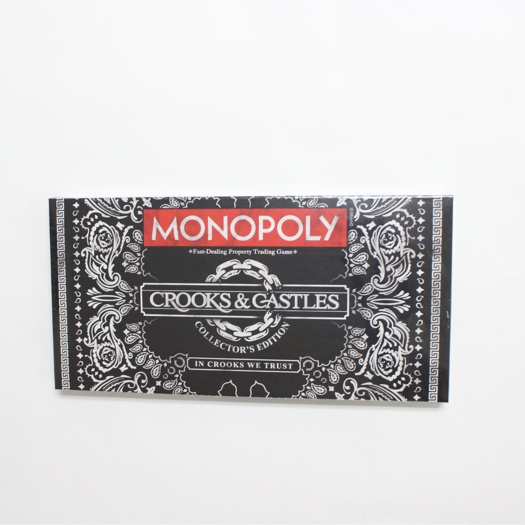 Image of Crooks and Castles x Monopoly Collectors Edition Board Game