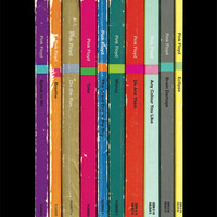 Pink Floyd 'The Dark Side of the Moon' Album As Penguin Books Poster Print Literary Print