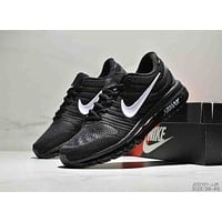 NIKE AIR MAX Tide brand low to help men's air cushion wear sneakers black