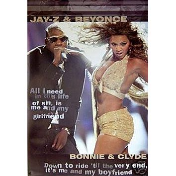 Jay-z & Beyonce Poster Live on Stage Rare NEW HOT 24x36