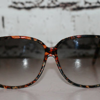 90s sunglasses sunnies oversize brown marble grunge hipster boho hippie festival pastel goth unisex non rx oversized glam