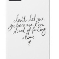 don't let me go by FanCreationss on Etsy