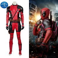Deadpool Dead pool Taco MANLUYUNXIAO New Men's  Costume Updated Version Halloween Carnival  Cosplay Costume For Men Hot Sale AT_70_6