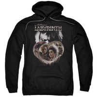 Labyrinth - Globes Adult Pull Over Hoodie