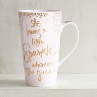She Leaves a Little Sparkle Mug