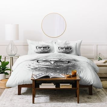 Allyson Johnson Wise Owl Duvet Cover