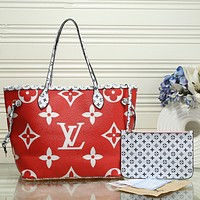 LV Louis Vuitton Fashion Hot Sale Women Leather Handbag Tote Shoulder Bag Purse Wallet