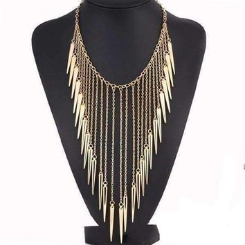 CLEARANCE - Edgy Icicles Necklace