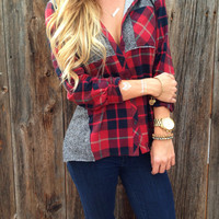 Perfect Plaid Hoodie
