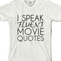White T-Shirt | Movie Quote Shirts