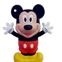 New 4GB 3D Mickey Mouse Style USB Flash Drive