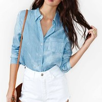 High Road Chambray Shirt