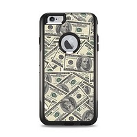 The Hundred Dollar Bill Apple iPhone 6 Plus Otterbox Commuter Case Skin Set