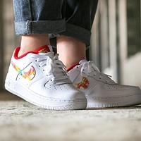 Nike Air Force 1 Fashionable Women Men Leisure Sport Running Shoes Sneakers