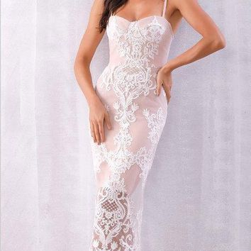 Uma Lace Bandage Dress