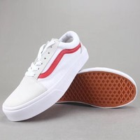 Vans Old Skool Women Men Fashion Casual Canvas Shoes-7