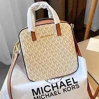 Onewel MK 2020 new low-key and independent female bag beige