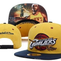 Perfect Cleveland Cavaliers NBA hats Women Men Embroidery Sports Sun Hat Baseball Cap Hat