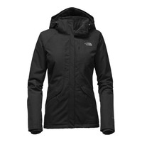 The North Face Women's Inlux Insulated Jacket in TNF Black NF0A2VEA-JK3