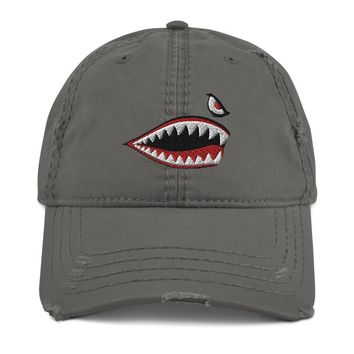Flying Tigers Distressed Dad Hat