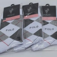 3pairs/lot  5pairs/lot Polo Socks brand Business Casual socks cheap and high quality