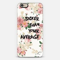 Sicker Than Your Average iPhone 6 case by Love Lunch Liftoff | Casetify