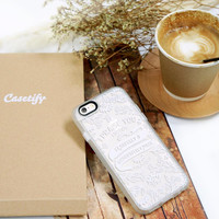 Meaningful iPhone 6s & 6s Plus Case (Fearfully & Wonderfully Made Pattern) by Casetify