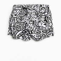 Boardies X The Doodle Man Shortie Swim Trunk - Urban Outfitters