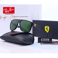 RayBan Ray-Ban x Ferrari Stylish Men Women Cool Summer Sun Shades Eyeglasses Glasses Sunglasses 3#