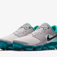 DCCK N326 Nike Air Vapormax 3.0 Flyknit 2018 Breatheable Casual Running Shoes Grey Black Blue
