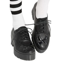 Hey You Guys Cleated Sole [Black] | FLAT