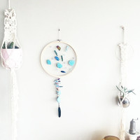 Custom Mermaid Dream Catcher- DreamCatcher- Turquoise Wall Decor- Wall Accent Decor- Bohemian decor- Boho Decor- Home Decor- Hippie- Gypsy