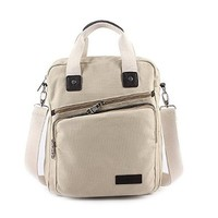 Vere Gloria Fashion Canvas Handbag for Man Woman Casual Business Shoulder Bags Fit for Ipad