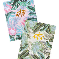 Hawaiian Floral Notebook Set