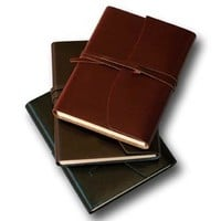 Leather Bound Travel Journal