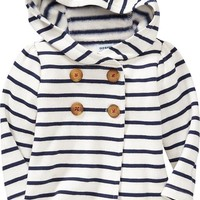 Old Navy Hooded Fleece Pea Coats For Baby