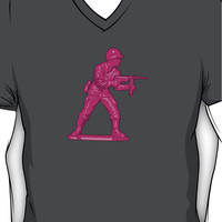 Toy Soldier [pink] V-Neck