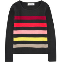 Girls Colorful Striped Sweater