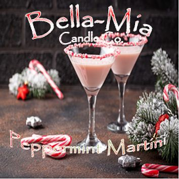 Peppermint Martini Natural Hand Poured Soy Candles