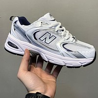 Bunchsun New Balance NB530 Retro Casual Running Shoes Sports Daddy Shoes Grey
