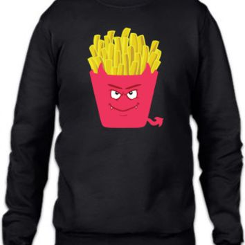 Evil Fries Crewneck Sweatshirt