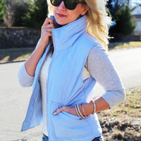 Only Way To Be Vest {Light Blue}
