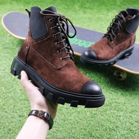 Best Online Sale Hermes Cow Barking Brown Boot Knight Motorcycle Boots