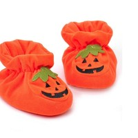 Toddler Halloween Cartoon Style Crib Shoes