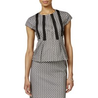 Nine West Womens Textured Pleated Shirts & Tops