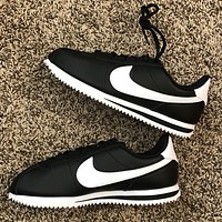Nike Forrest Classic Cortez running shoes classic sports shoes retro shoes black