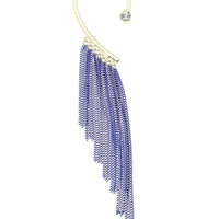 Fringed Cuff Earrings