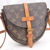 Authentic Louis Vuitton Monogram Chantilly PM Shoulder Bag M51234 LV 52604