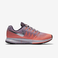 The Nike Air Zoom Pegasus 33 Shield Women's Running Shoe.