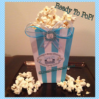 Ready to Pop It's a Boy Safari Baby shower Favor Boxes